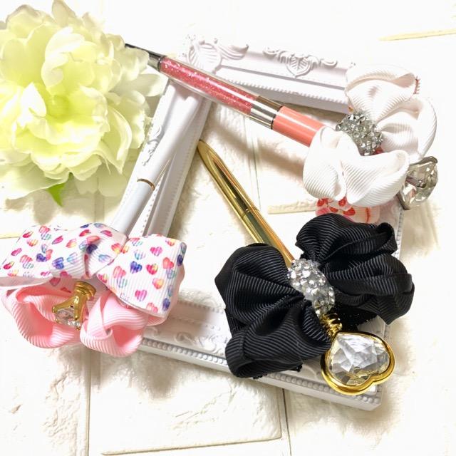fuwaribbon jewel pen